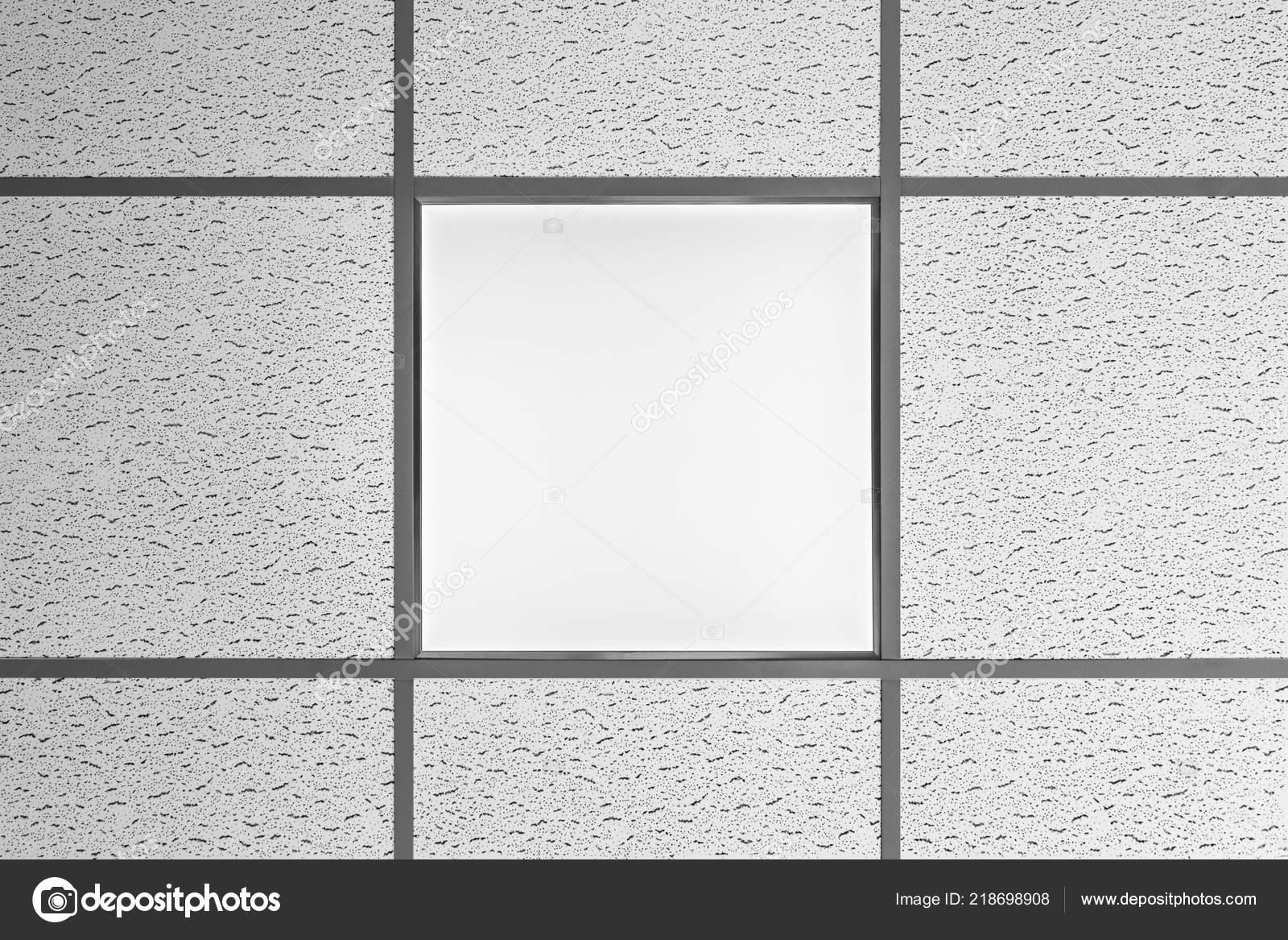 Lampentyp Led Panel Decke Ist Integriert Die Abgehangte Decke Mit