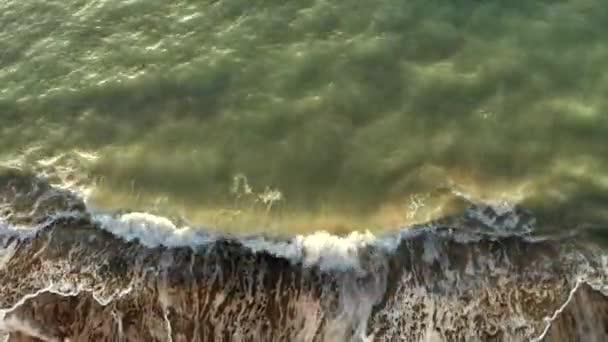 Rough wave in the ocean