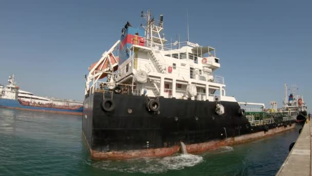 Chemický lodní přístav v přístavu