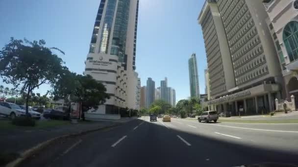Panama City, Panama-říjen 9: Pohled na krásné panorama Panama City a finanční oblasti v Panamě, 9. říjen 2018.
