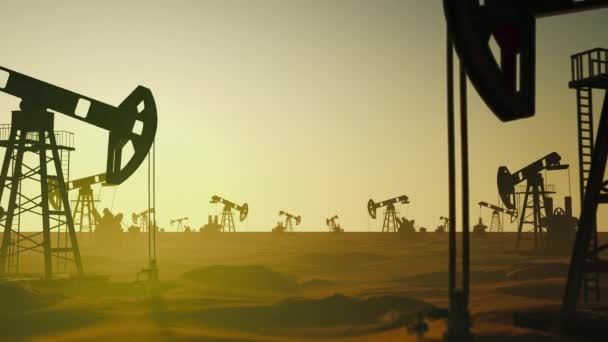Global Ecology Factory Petrol Oil Pumping at Manufacture Stage Field Petroleum