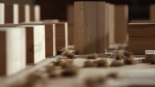 Podnikatel se shromáždil na výstavu ukázka klidného obývacího prostoru