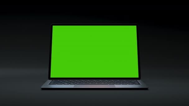 Clear Green Screen 3D počítač pro podnikání Blog nebo herní aplikace Video Close-Up 4k