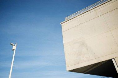 Modern concrete building