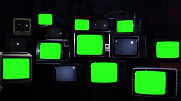 Mnoho televizorů s zelené nedodají. Modré tmavé tón. Estetika na 80. Připraven k nahrazení zelených obrazovek s Any záběry nebo obrázek chcete. Full Hd