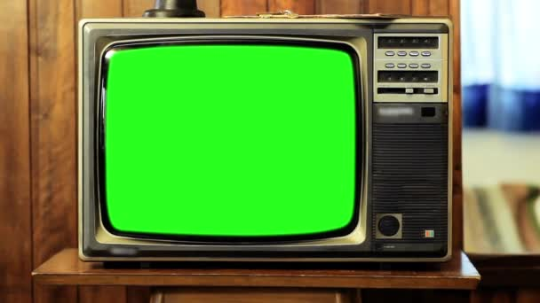 1980-as években televíziós zöld képernyő. Kész arra, hogy cserélje ki a zöld képernyő felvétel vagy képet szeretne. Meg tudod csinálni a beírása (Chroma Key) hatása az Adobe After Effects vagy más video szerkesztés szoftver. Full Hd.