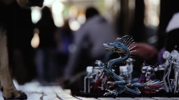 Street Crafts In Florida Street, Buenos Aires (Argentina).