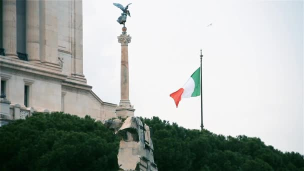 The Vittorio Emanuele Ii Monument, In Rome (Italy).