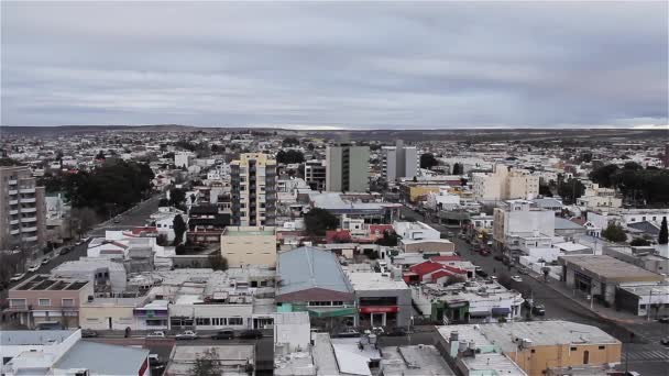 Panorama Of The City Of Puerto Madryn, In The Argentine Patagonia.