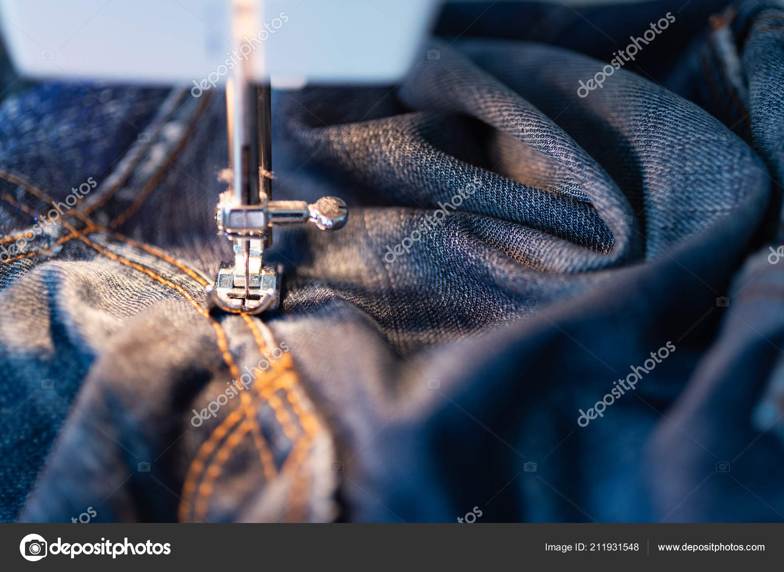Sewing Machine Jeans