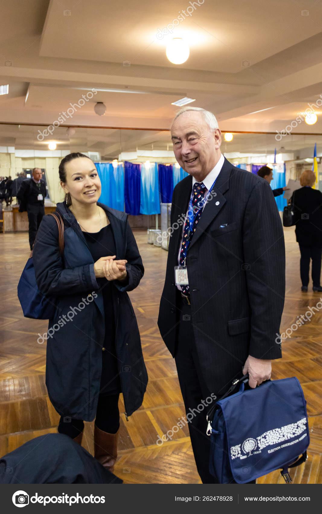 DNIPRO, UKRAINE - 2019 April, 21: Representatives of the OSCE and