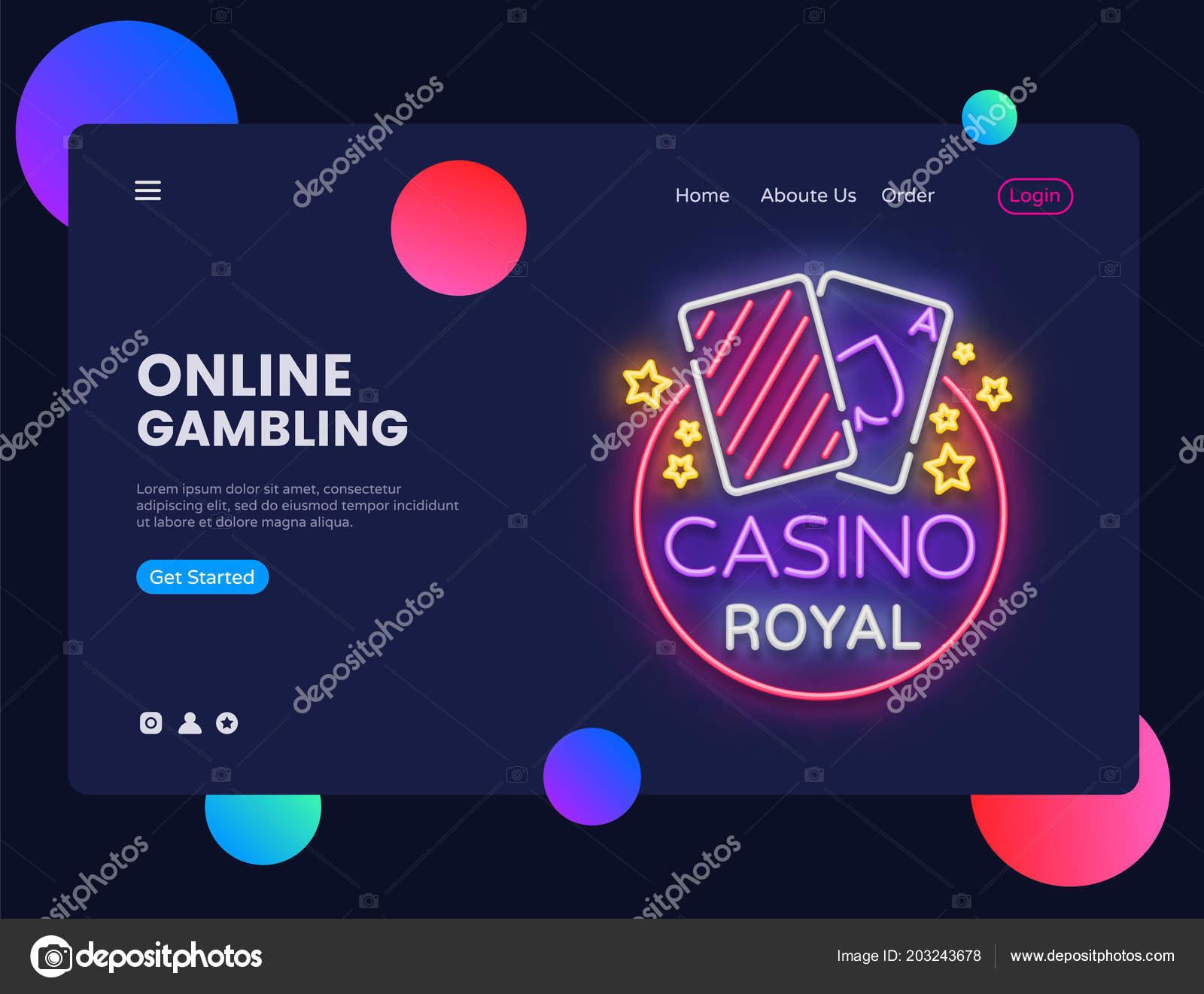 казино шаблон