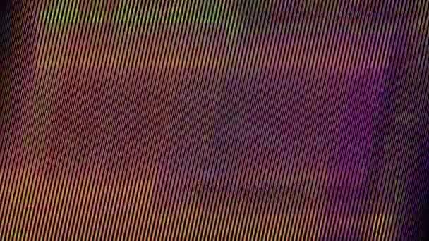 Best 4k Broken Cracked Tv Screen Video.Old tv screen error Abstraktní design digitálního pixelu zvuku Chyba fotografie Chyba TV signálu selhání