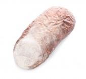 čerstvý chléb chutné na bílém pozadí