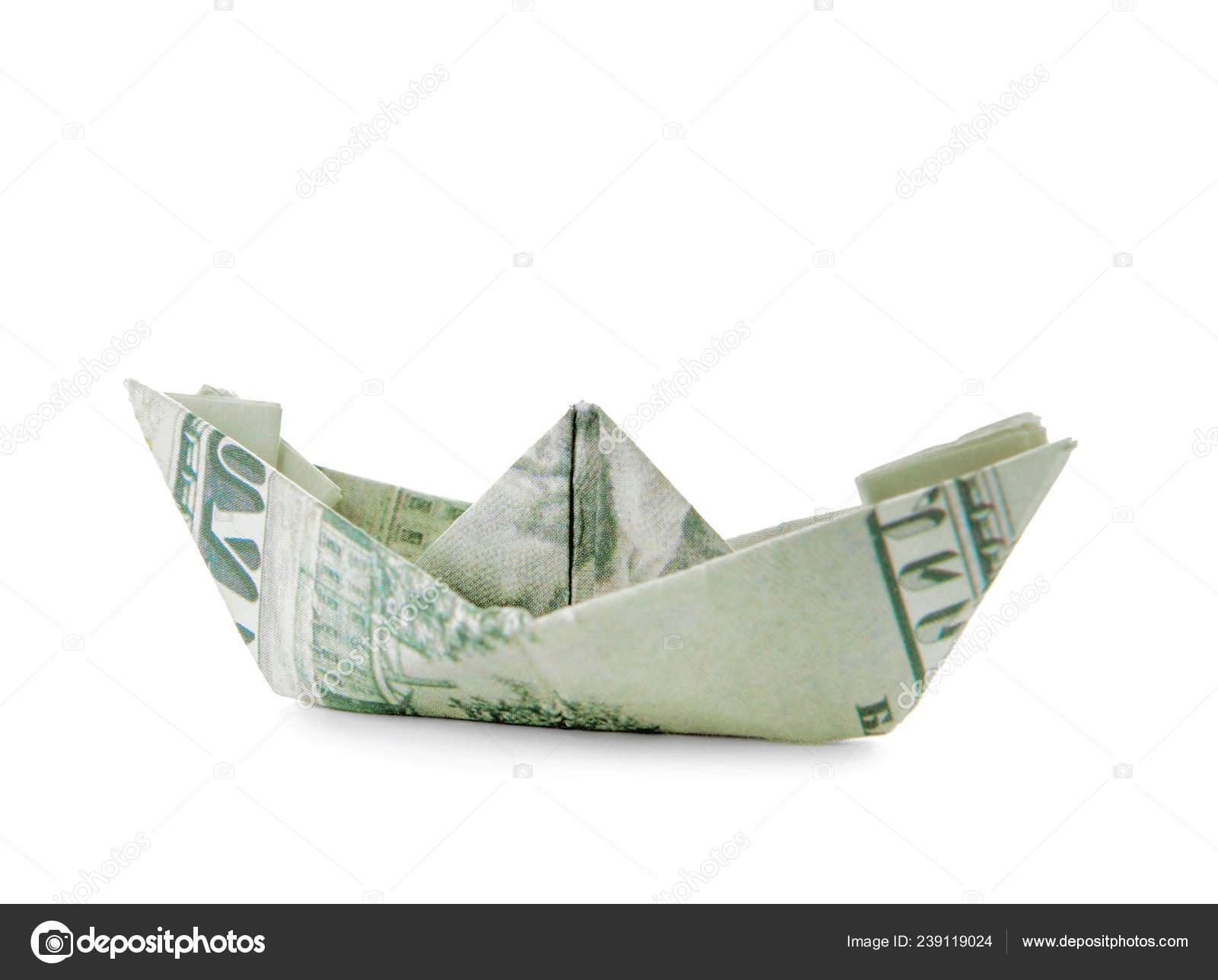 Money BOAT (Ship) | Easy Origami out of Dollar bill | Tutorial DIY ... | 1288x1600