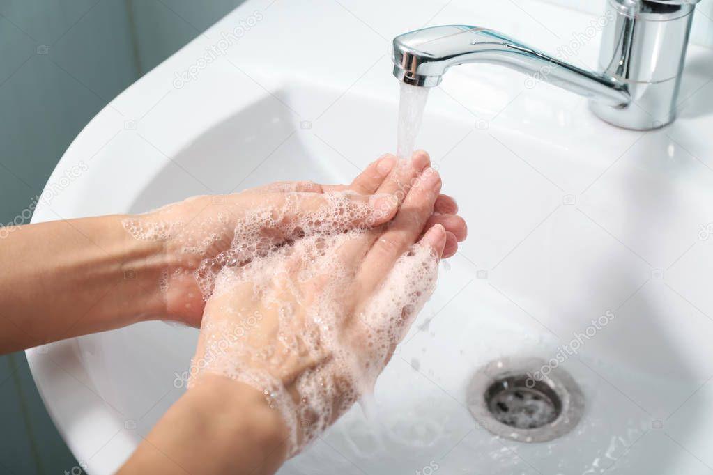 Раковина картинка мытье рук