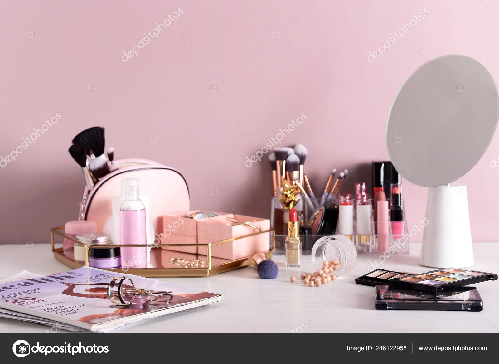 Dressing Table Professional Makeup