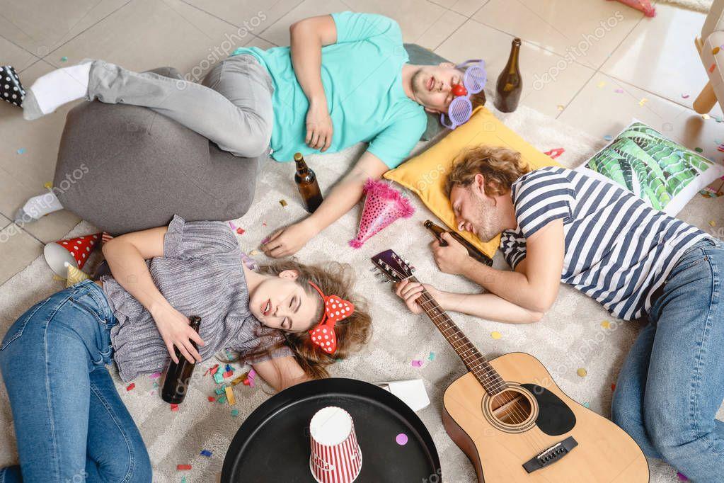 фото номера после вечеринки