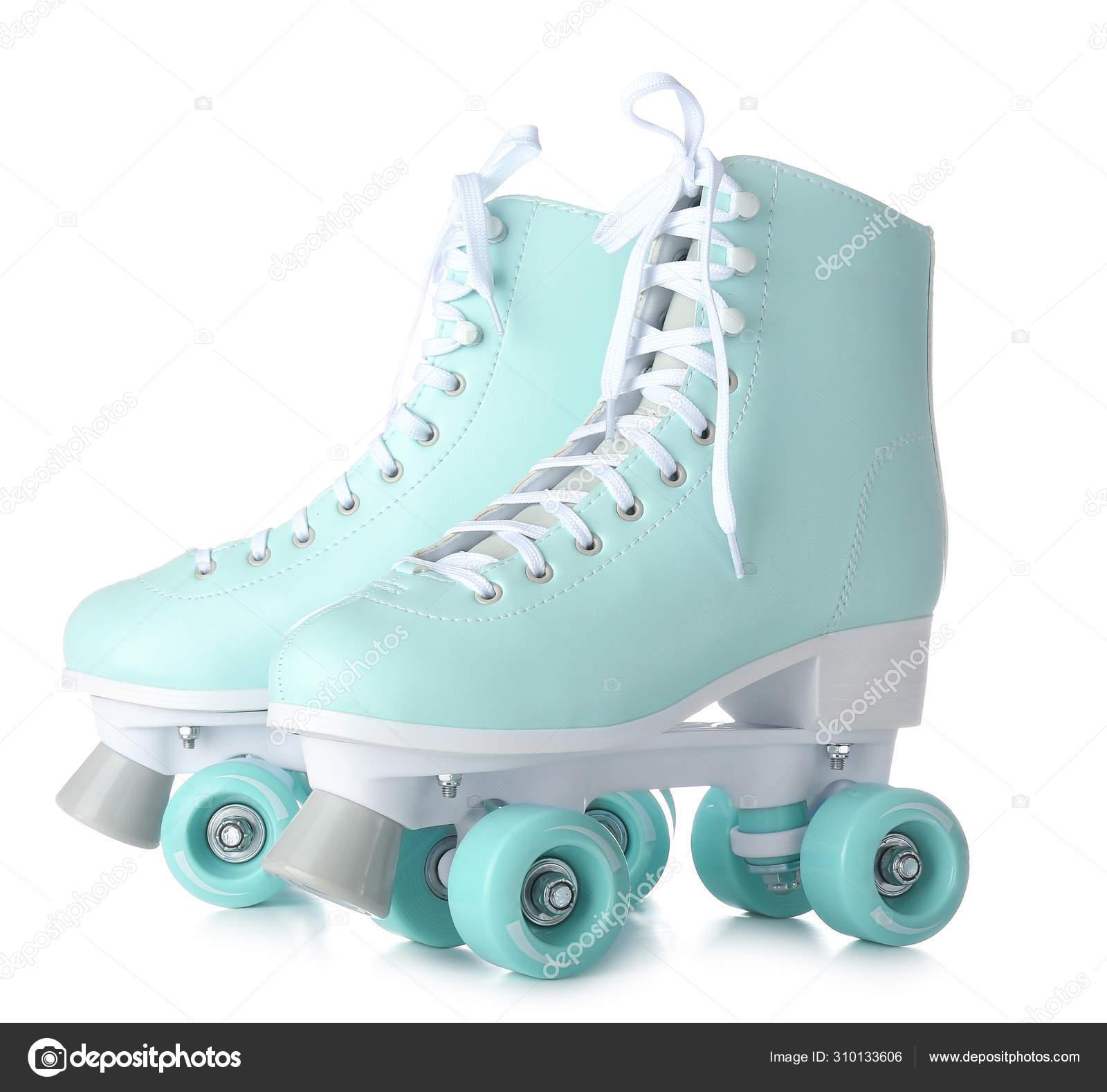 Vintage Roller Skates On White Background Stock Photo C Serezniy 310133606