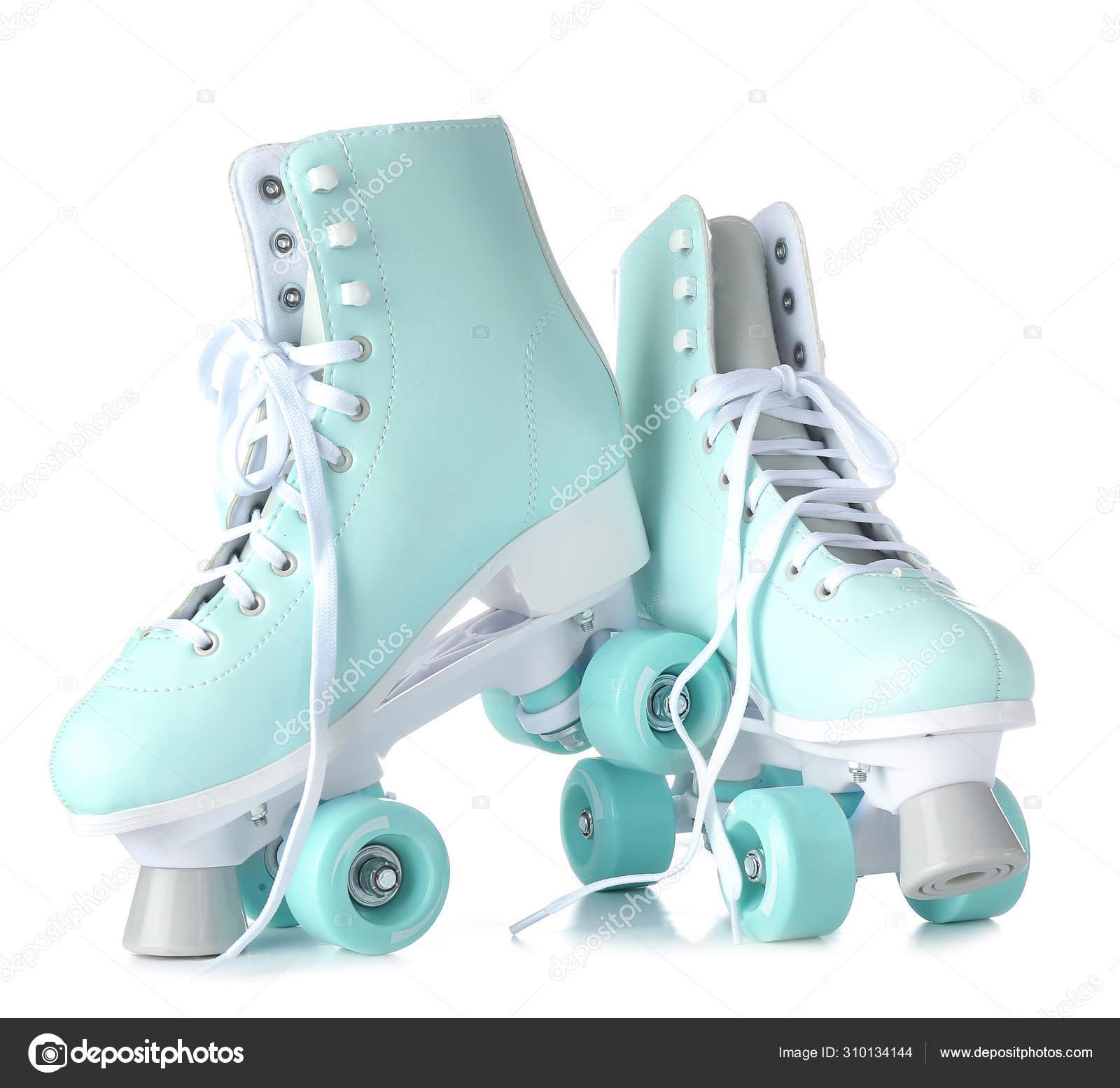 Vintage Roller Skates On White Background Stock Photo C Serezniy 310134144