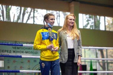 Ukrainian Boxing Cup among elite women, Ukrainian boxing championship among young women, juniors and girls,KDYUSSH-HTZ Track and field arena, Kharkiv, Ukraine,30.09.2020 - 03.10.2020.