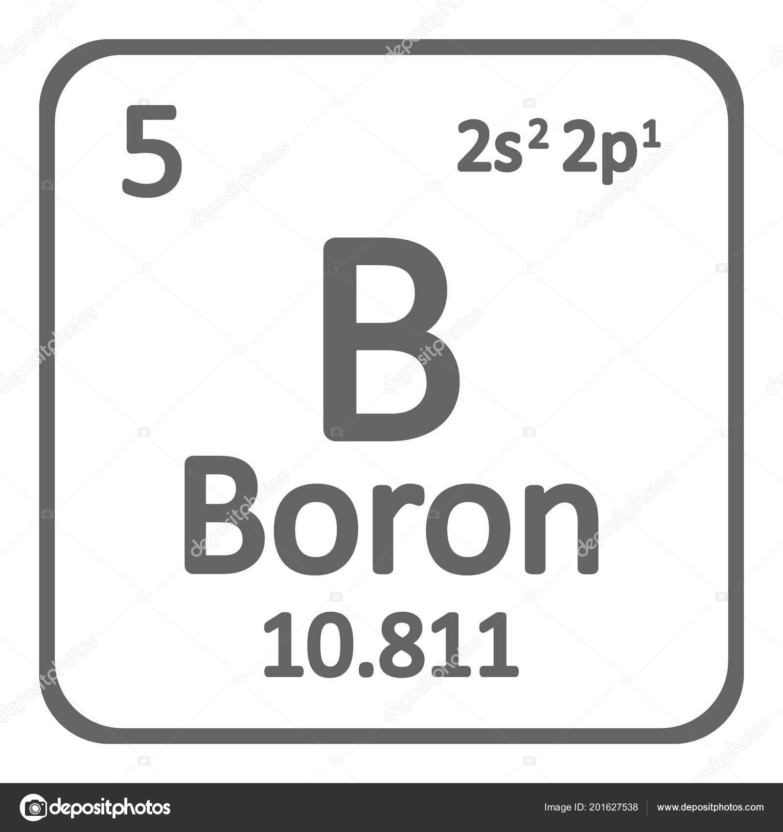 Tabla periodica elemento boro icono sobre fondo blanco ilustracin tabla periodica elemento boro icono sobre fondo blanco ilustracin vector archivo imgenes vectoriales urtaz Images