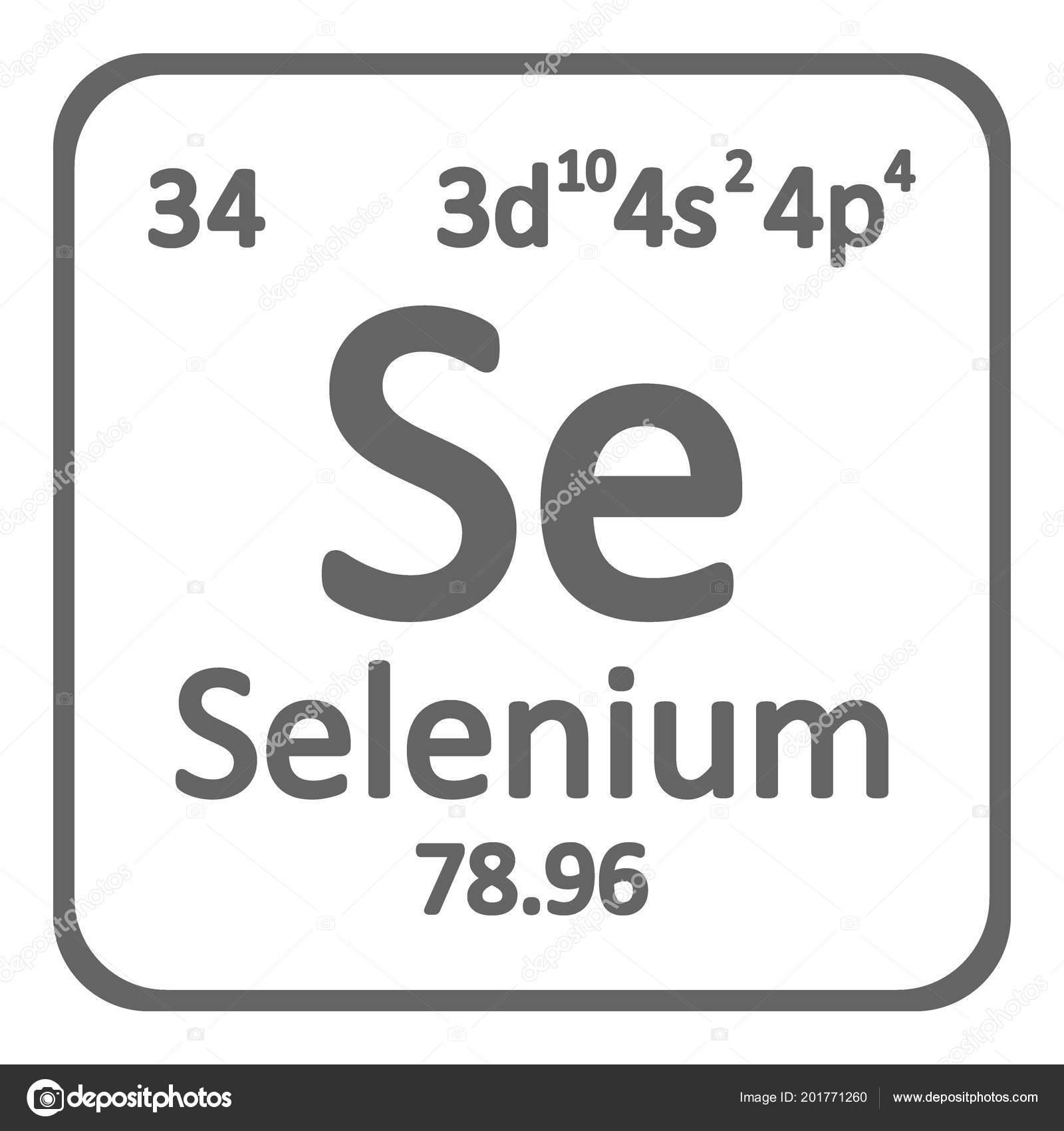 Tabla periodica elemento selenio icono sobre fondo blanco tabla periodica elemento selenio icono sobre fondo blanco ilustracin vector archivo imgenes vectoriales urtaz Choice Image
