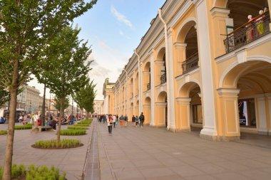 Nevsky Prospect in St.Petersburg.