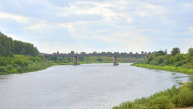 Western Dvina river.