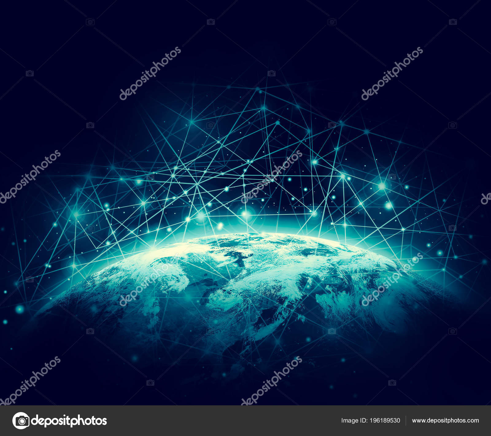 Earth From Space Best Internet Concept Of Global Business From