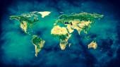 Fényképek Fizikai világ Térkép szemlélteti. Ez a kép a Nasa berendezett elemei