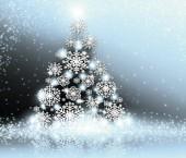 Fotografie Christmas blue Tree