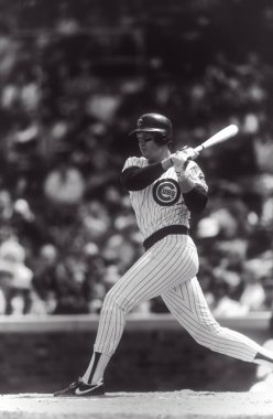 Jody Davis batting for the Chicago Cubs during a regular season game at Wrigley Field in Chicago. Jody Davis retired after playing nine years in professional baseball.