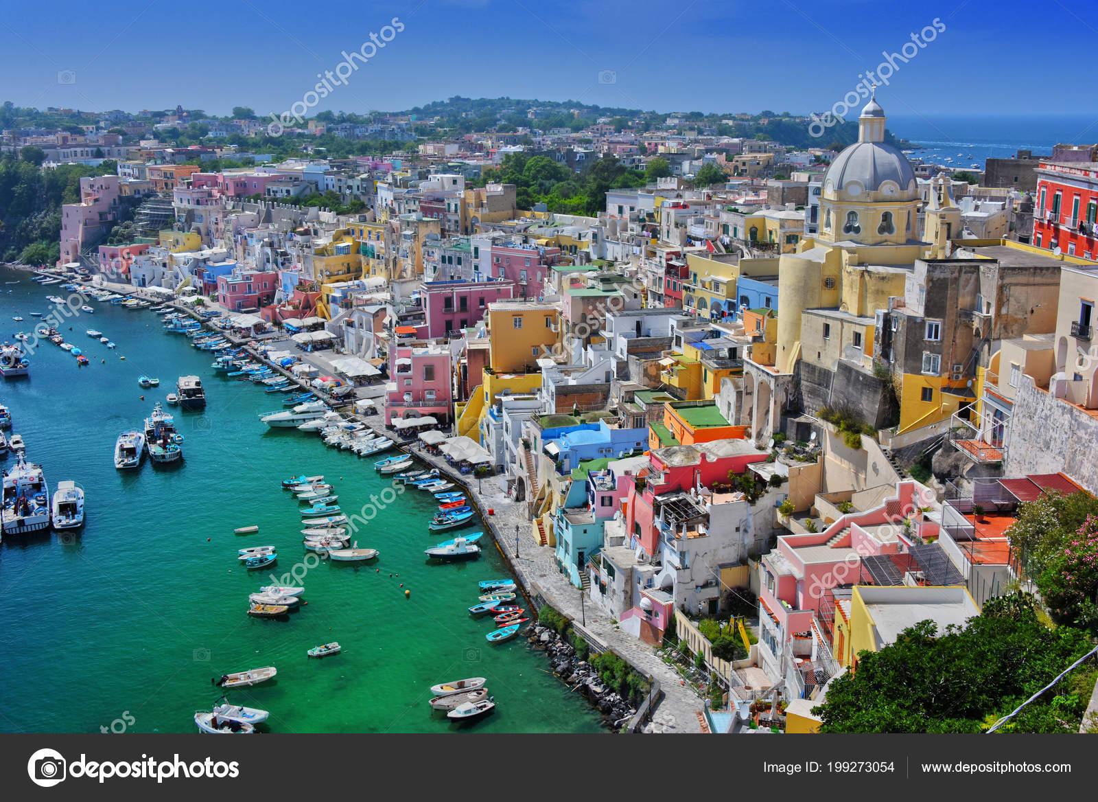 Architecture Procida Island Comune Metropolitan City Naples Campania Italy  ⬇ Stock Photo, Image by © monticello #199273054