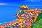 Fotografia La città di Scilla, in provincia di Reggio Calabria, Italia
