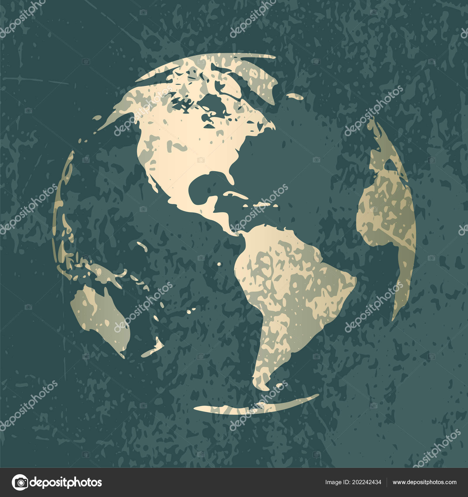 Gold world map design stock vector italylover87gmail 202242434 gold world map design stock vector gumiabroncs Images