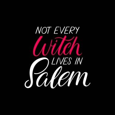 Get Not Every Witch Lives In Salem – Svg File DXF