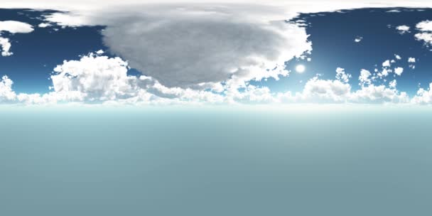 VR 360 degree Panoramic Sky and Clouds. ready for use in 3D environment