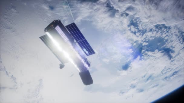 Hubbleův vesmírný dalekohled obíhajících kolem země. Prvky tohoto obrázku jsou podle Nasa.