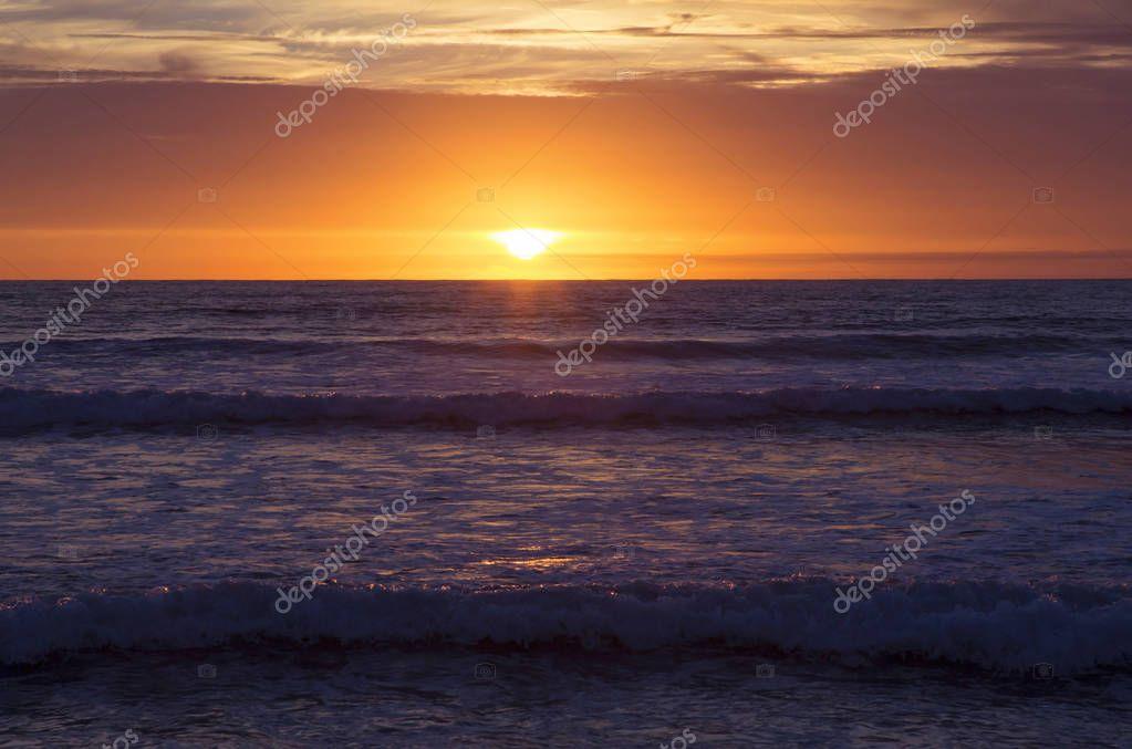 Фотообои Sunset at Strandhill Beach, Co.Sligo, Ireland