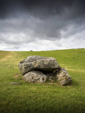 Carrowmore megalithic cemetery in Ireland