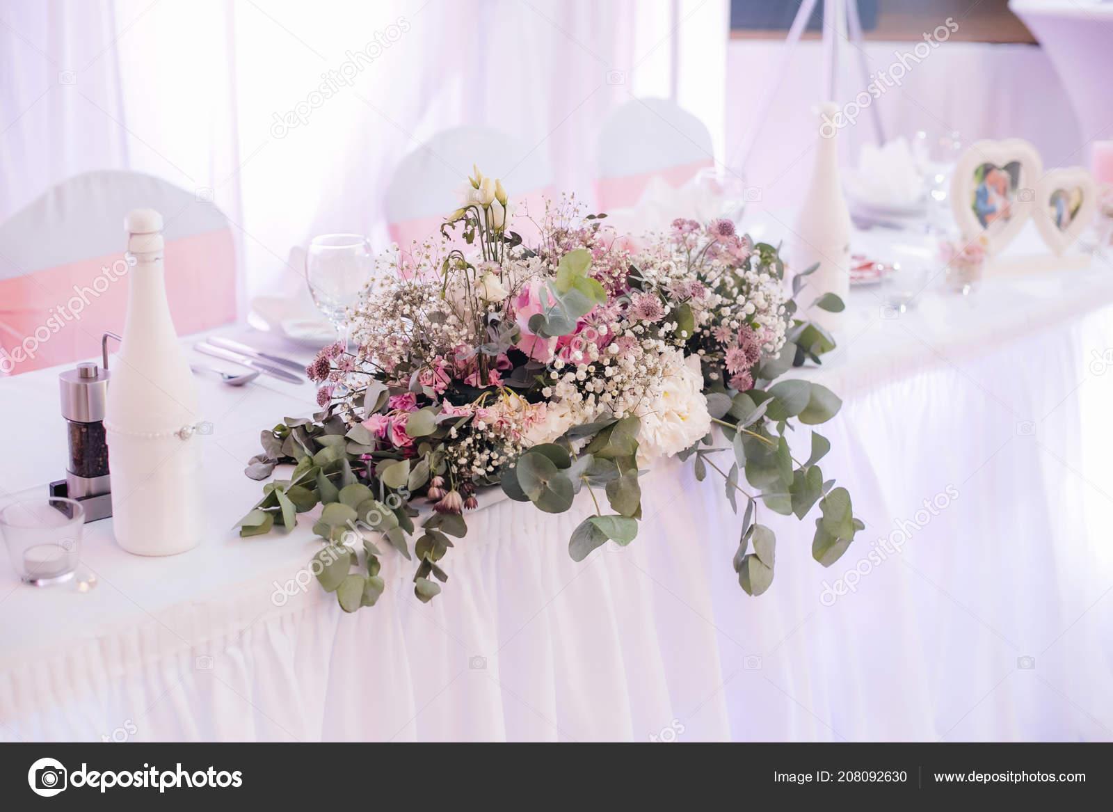 Hochzeit Zeremonie Dekoration Blumen Stockfoto Lelik83 208092630