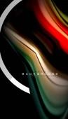 Kapalná média barvy holografické konstrukce s kovovým styl linie obrazce