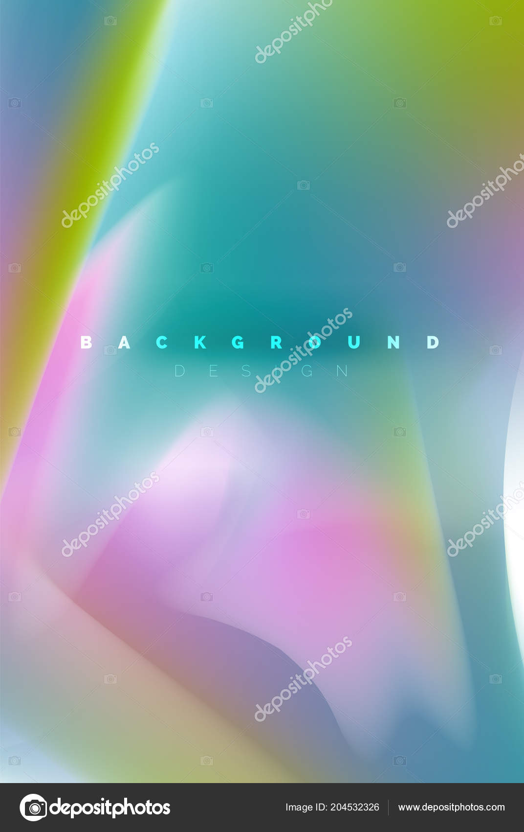 Holographic Paint Explosion Design Fluid Colors Flow Colorful Storm Liquid Mixing Colours Motion Concept Trendy Abstract Background Layout Template For