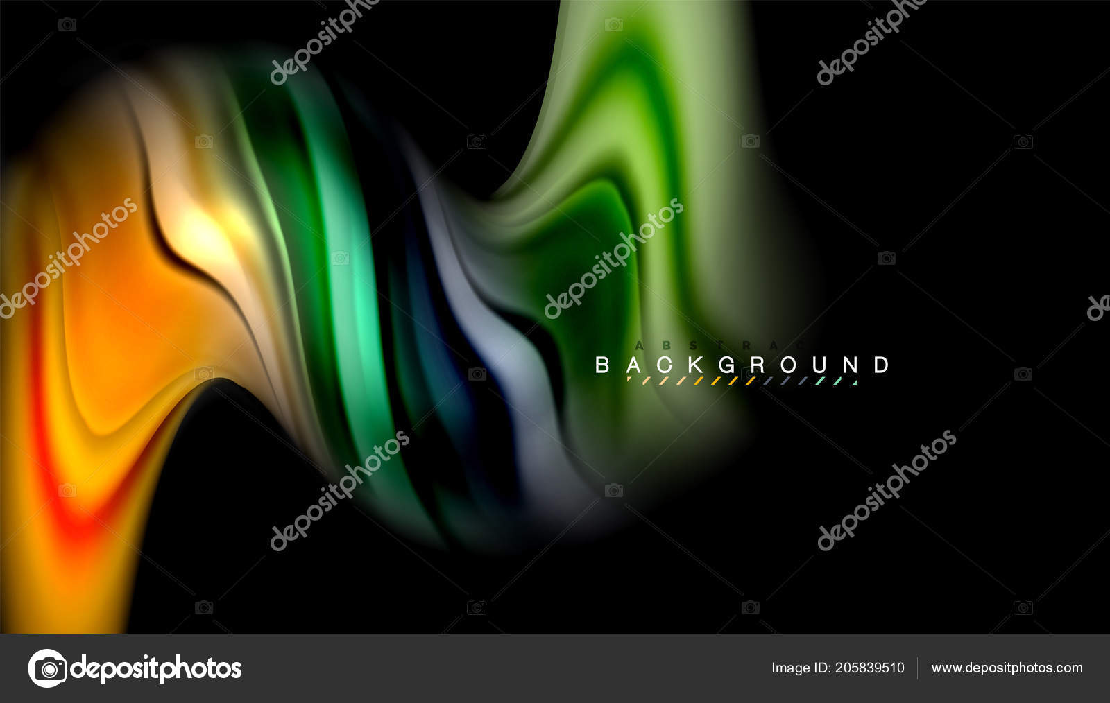 Fluid colors abstract background, twisted liquid design on