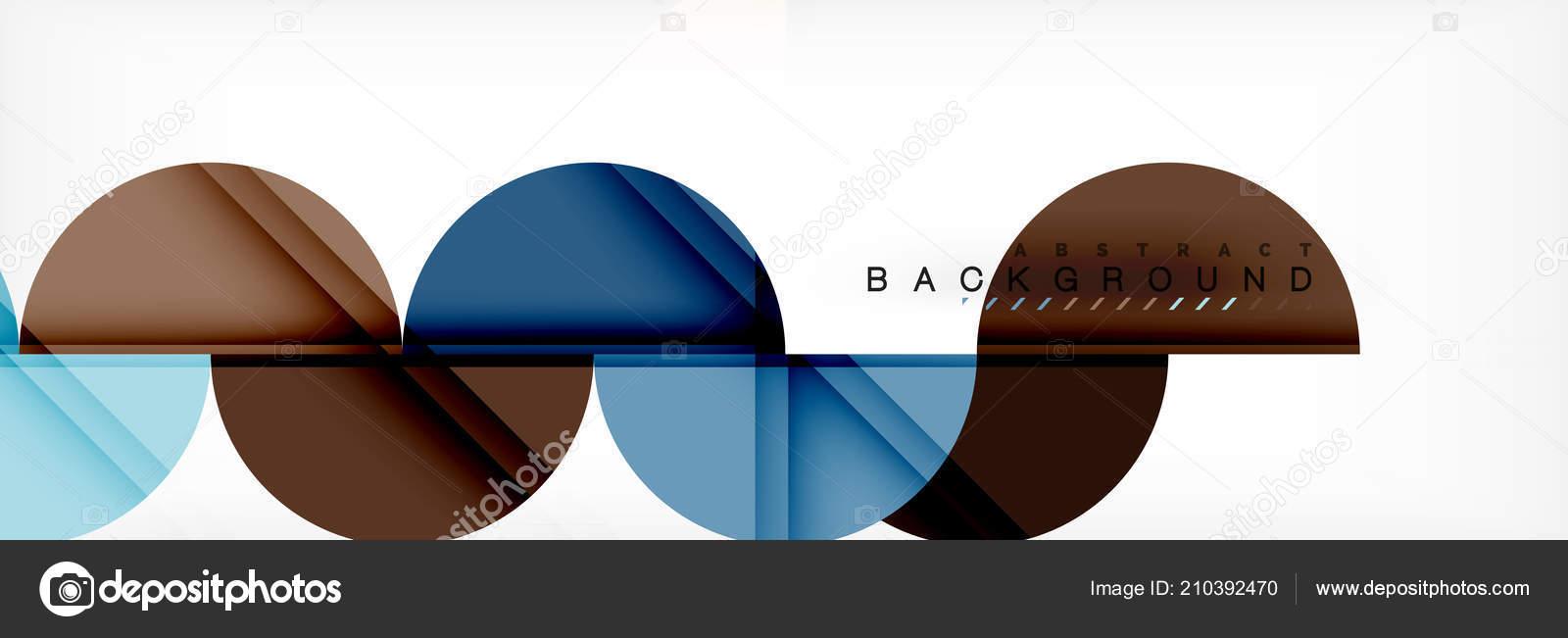 semi circle abstract background modern geometric pattern design