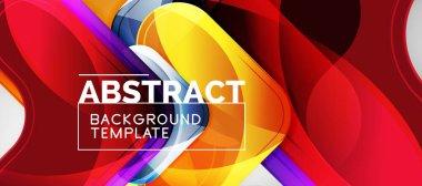 Arrow background, modern style geometry design element. Vector illustration for wallpaper, presentation, header, card, poster, invitation
