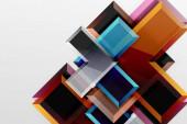 Metallpfeil Form Hintergrund. Abstrakter geometrischer Hintergrund mit 3D-Effektkomposition für Tapeten, Banner, Hintergrund, Karte, Buchillustration, Landing Page
