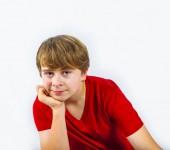 Fotografie Porträt von hübsch lächelnd teenager