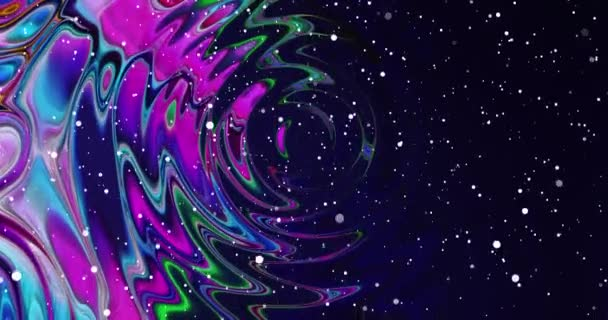Abstract colorful animation .Multicolor liquid background.Beautiful Gradient Texture,Moving abstract multicolored background